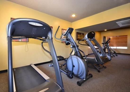 Yuma Hotel: Exercise area