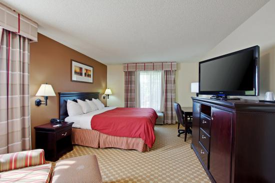 Country Inn & Suites By Carlson, Asheville at Biltmore Square Mall: CountryInn&Suites Asheville GuestRoom