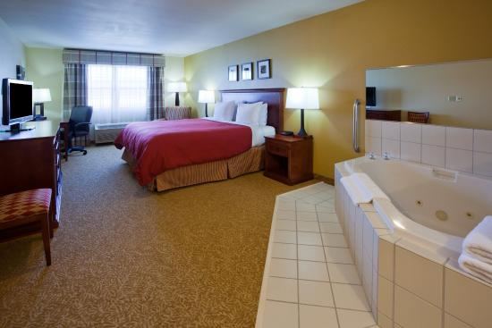 Dakota Dunes, Dakota do Sul: CountryInn&Suites DakotaDunes WhirlpoolSuite