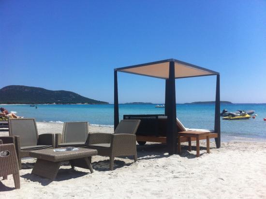 Le Palm Beach Palombaggia: plage palombaggia le palm beach