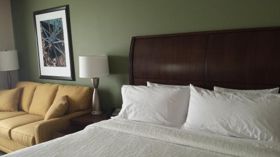 Hilton Garden Inn Green Bay: Upgraded King Room with Pull_Out Sofa Sleeper