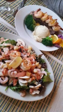 Deer Harbor Inn: Delicious Dinner!