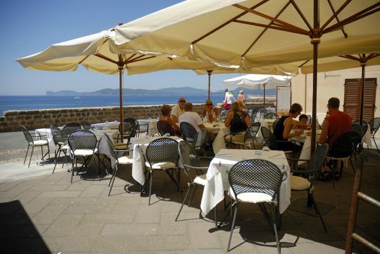 Ristorante Angedras Alghero Bastioni - Picture of Hotel Angedras ...