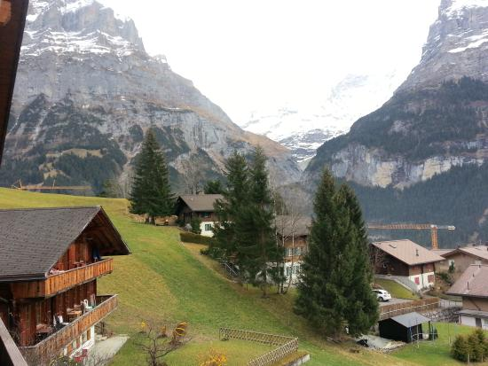 Hotel Alpenhof Grindelwald: Amazing views...