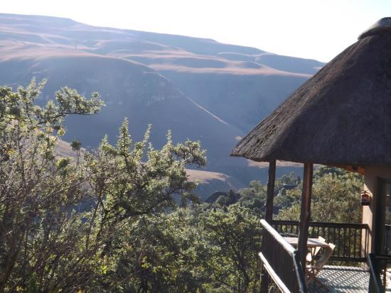 Giant's Castle Camp: Chalet avec vue