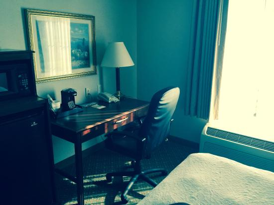 Hampton Inn & Suites Newport/Middletown: Desk