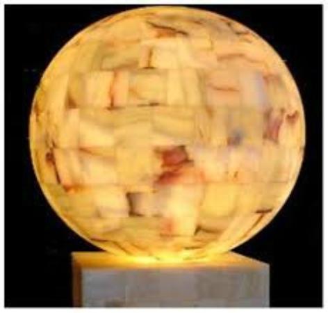 foto de artesanias de onix y marmol mariana puebla mesa