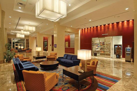 Harrah's Metropolis Casino: Lobby view