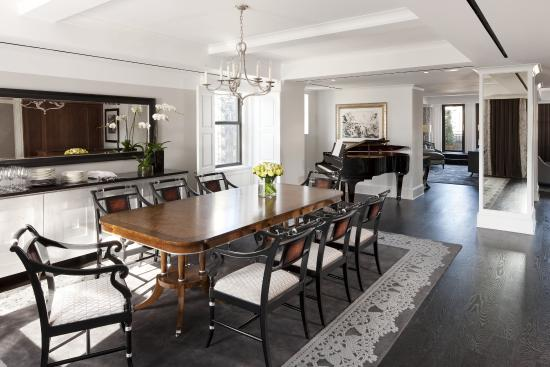presidential suite dining room - picture of the surrey, new york