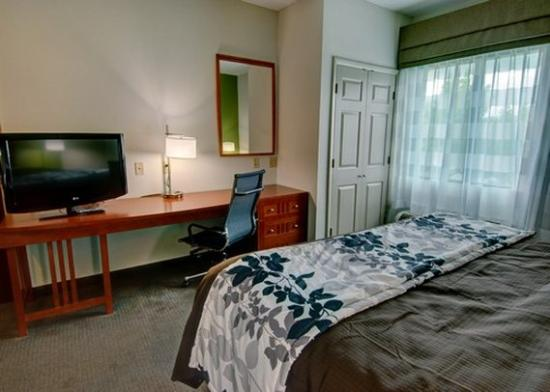 Sleep Inn & Suites: room2b