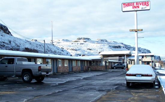 Biggs Junction, Oregón: Outside Snow