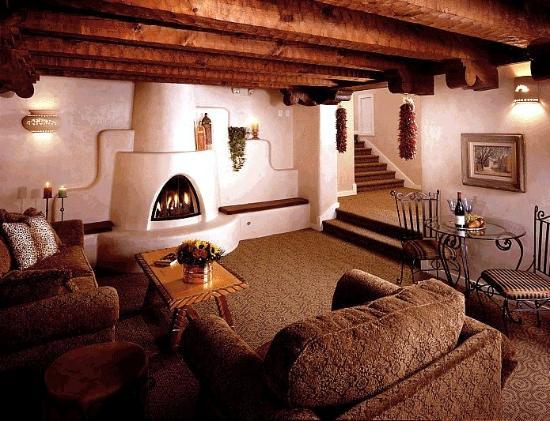 Hotel La Fonda de Taos: HLFMezz New