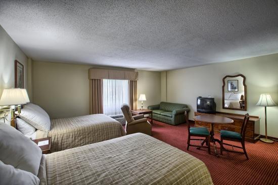 The University Inn: Double Kitchenette Room