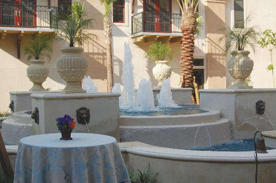 Carriage House Hotel : Fountain