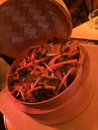 Ginette de la Cote d'Azur: Le Wok saumon