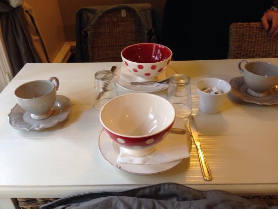 Cote Mer : Table du petit déjeuner