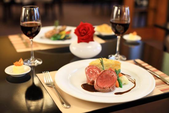 Grand Hotel Bohemia: Franz Josef Restaurant - meal detail