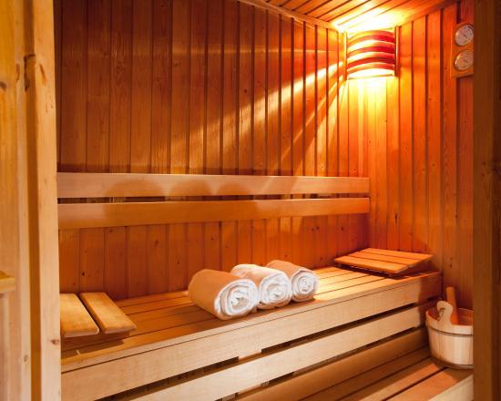 Ambra Hotel: Sauna