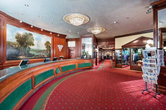 Italy Bologna Royal Hotel Carlton Lobby