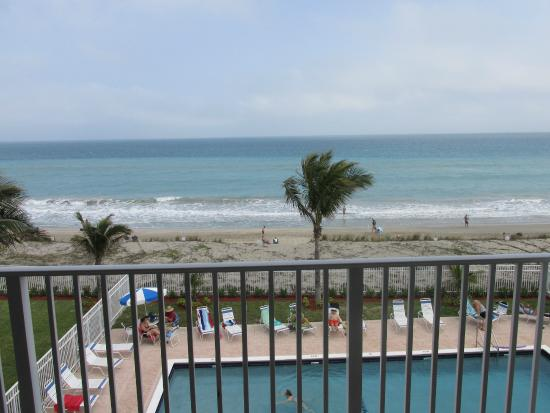 Island Beach Resort : View from balcony