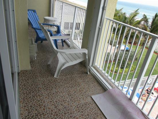 Island Beach Resort : Balcony
