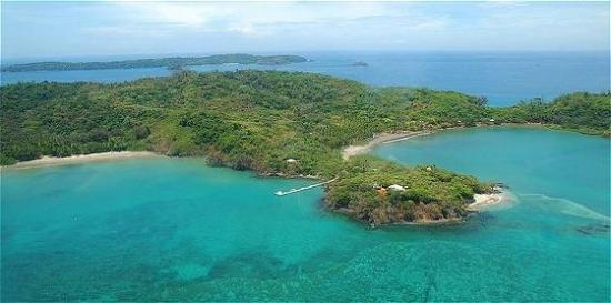 Islas Secas, Panama: Exterior view