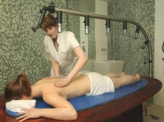 Privathotel Lindtner Hamburg: Payot Vichy Shower