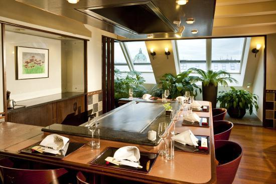 Grand Hotel Wien: Unkai Teppanyaki Restaurant