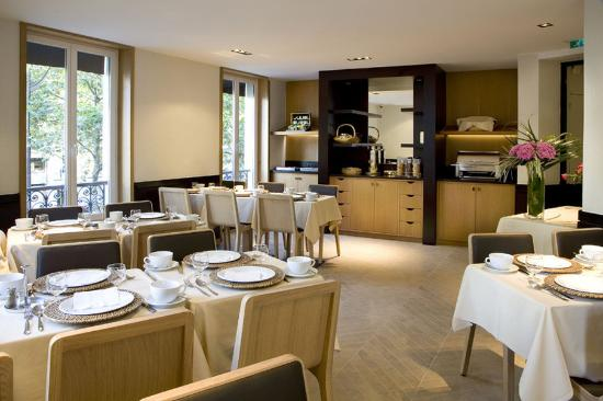 BREAKFAST ROOM HOTEL MARCEAU CHAMPS ELYSEES