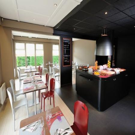 Taissy, Γαλλία: Restaurant
