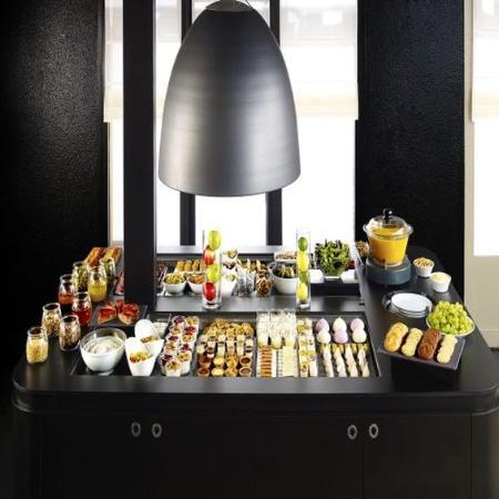 Taissy, Γαλλία: Buffet restaurant