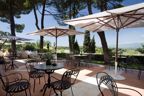 Le Mas Candille: Le Candille panoramic terrace