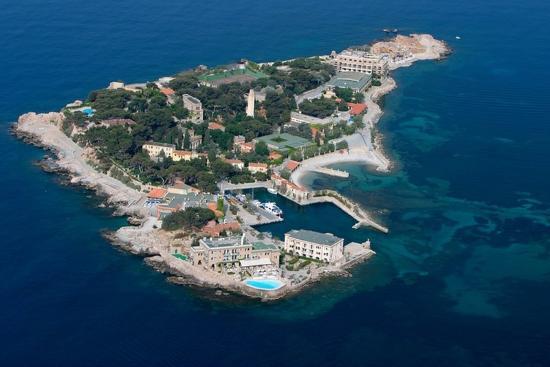 Hotel Le Delos: Bendor Island