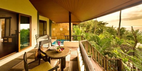 Andaman White Beach Resort: View From Sea View Deluxe Room With Jacuzzi