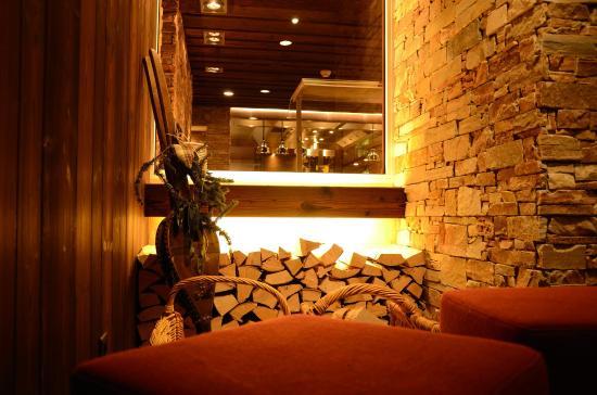 Sunstar Alpine Hotel Arosa: Sunstar Hotel Arosa Cheminee