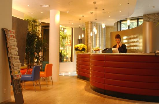 Hotel Scheuble: Lobby View