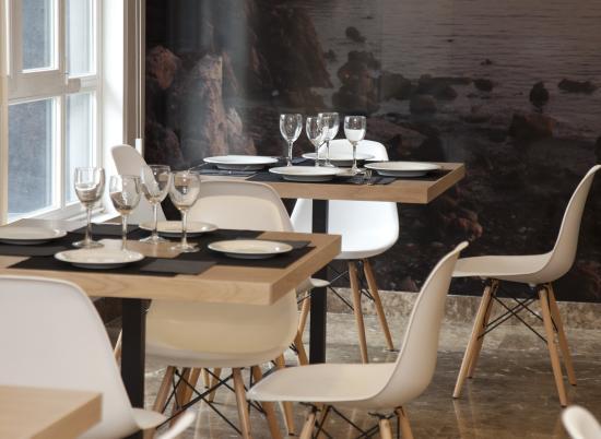Hotel Gelmirez: Restaurant