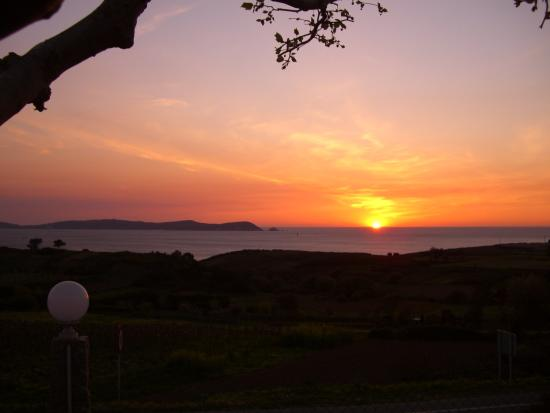 Sunset from Hotel Oca Vermar***