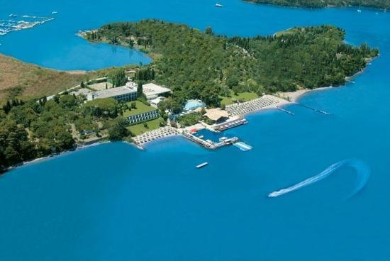 Kontokali Bay Resort and Spa: Kontokali Bay Areial View
