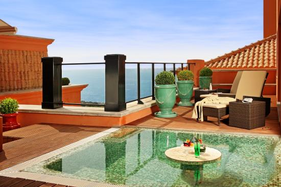 Grande Real Villa Italia Hotel & Spa: Majestic Suite pool