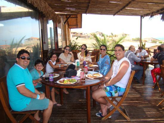 Restaurante Boi Negro Beach: Almoço em família