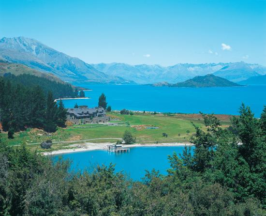Blanket Bay from the North on Lake Wakatipu