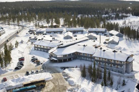 Lapland Hotel Yllaskaltio : LH Yllaskaltio At Wintertime