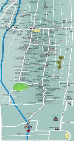 Santi Mandala: Location Map