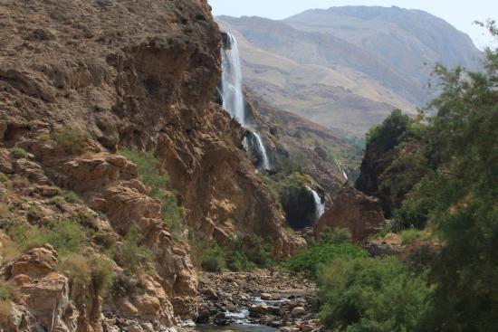 Ma'In Hot Springs : Hot Springs Waterfall