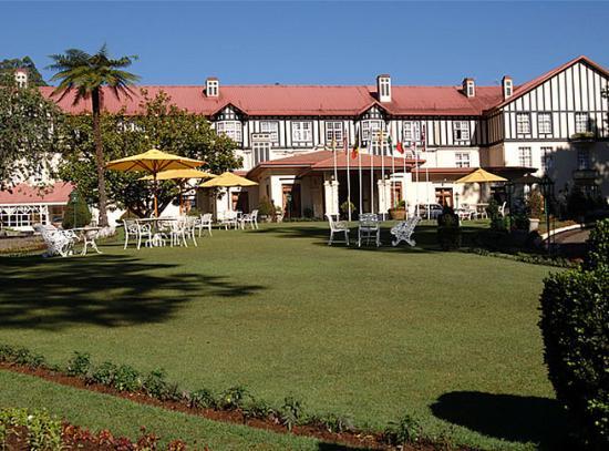 The Grand Hotel: Garden