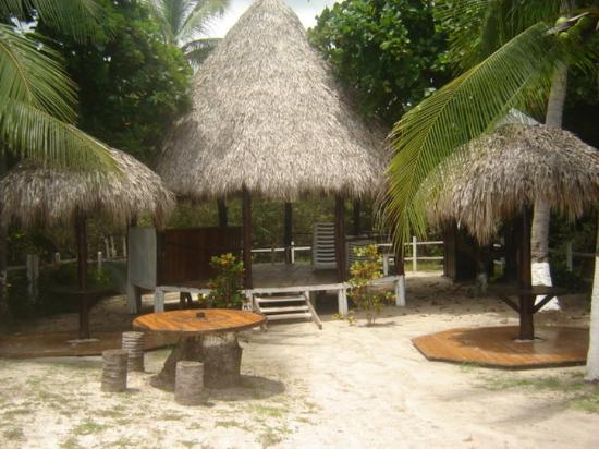 Villaggio Flor de Pacifico: Beach club