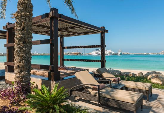 The Westin Dubai Mina Seyahi Beach Resort & Marina: Beach Cabana