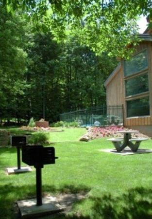 Rib Mountain Inn: Picnic Area