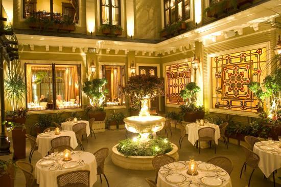 Hotel Grano de Oro San Jose: Patio, Restaurant Grano de Oro